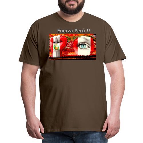 Telar Fuerza Peru I - Men's Premium T-Shirt