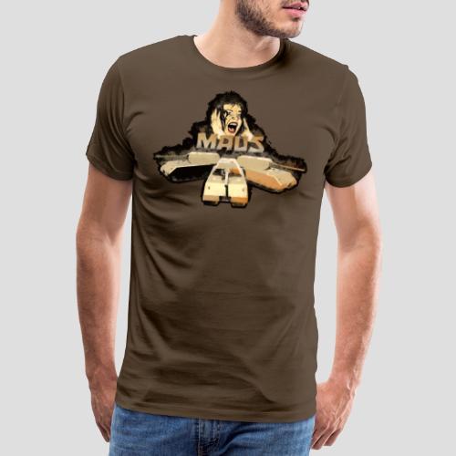 Maus Schreck, ( Maus Panzer Design ) - Männer Premium T-Shirt