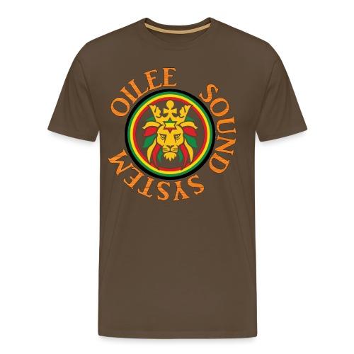 logo oilee sound - T-shirt Premium Homme
