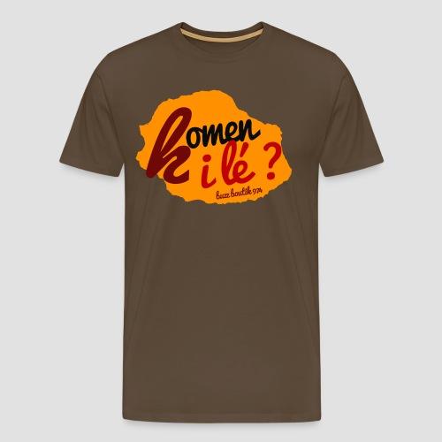 Collection  Komen i lé ?  - T-shirt Premium Homme