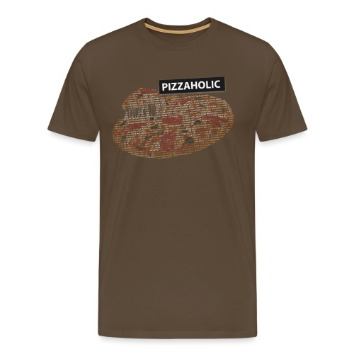 Pizzaholic - Premium T-skjorte for menn