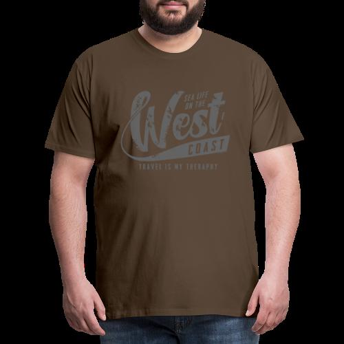 West Coast Sea surf clothes and gifts GP1306B - Miesten premium t-paita