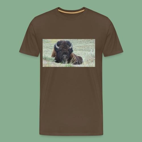 Bison - T-shirt Premium Homme