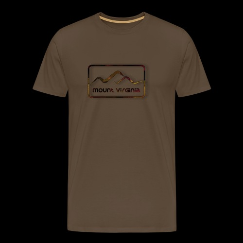 Mount Virginia Dark - Männer Premium T-Shirt