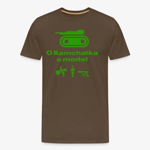 RisiKo O kamchatka o morte - verde - Maglietta Premium da uomo