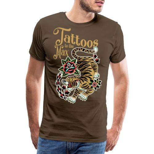 Tattoos to the Max - Tiger Unchained - Männer Premium T-Shirt
