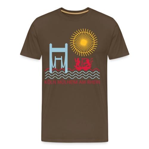 koelnmuelheim mit sonne - Männer Premium T-Shirt