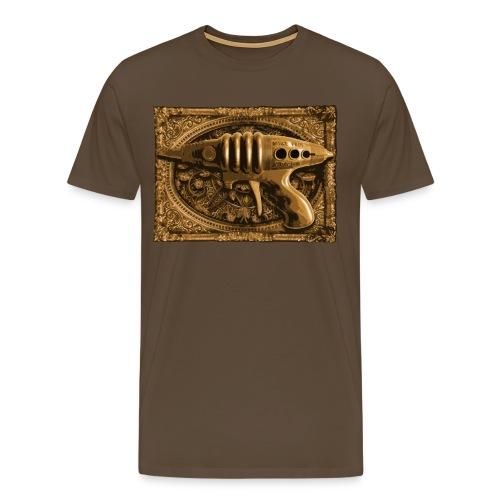 SteampunkGun - Mannen Premium T-shirt