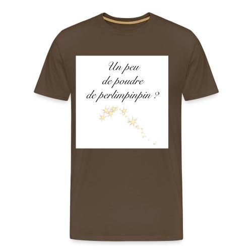 poudre de - T-shirt Premium Homme