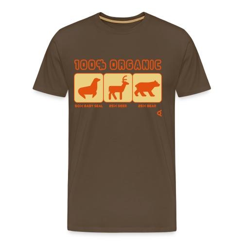 100 pct organic - T-shirt Premium Homme