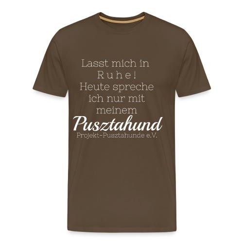 Lasst mich in Ruhe - Männer Premium T-Shirt
