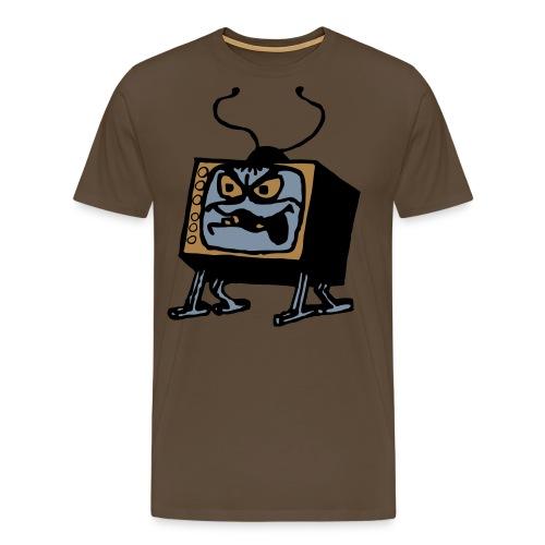 angrytelly - Men's Premium T-Shirt
