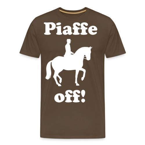 Piaffe off! Gentlemen's T-shirt - Men's Premium T-Shirt
