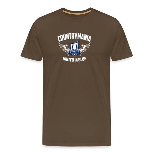 United In Blue - Maglietta Premium da uomo