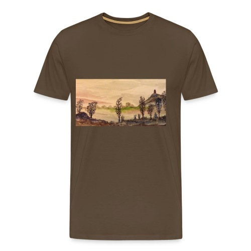 Glastonbury Tor - Men's Premium T-Shirt