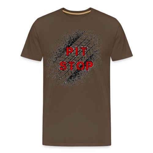 Logo Pit Stop - Camiseta premium hombre