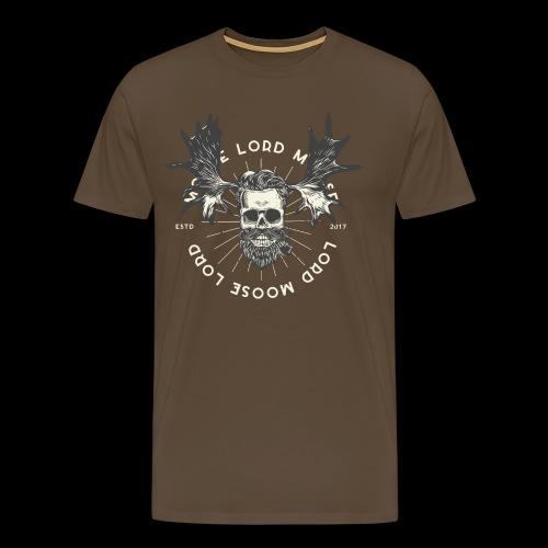Lord Moose - Premium-T-shirt herr