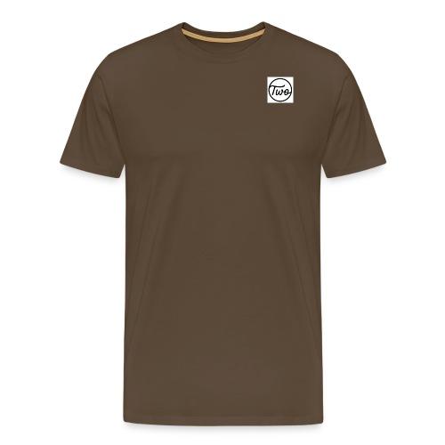 Two Brows Logo - Männer Premium T-Shirt
