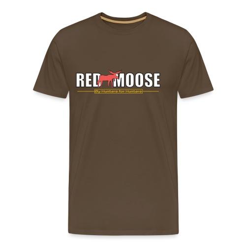 Red Moose logo - Premium-T-shirt herr