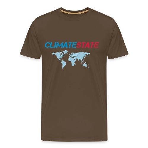 Weltkarte - Men's Premium T-Shirt