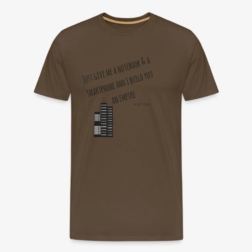 EMPIRE - Hustle Fashion by AMTDesign - Männer Premium T-Shirt