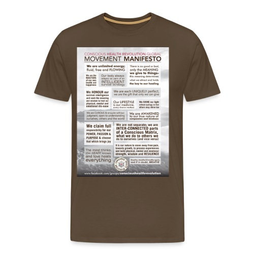 Movement Manifesto - Men's Premium T-Shirt