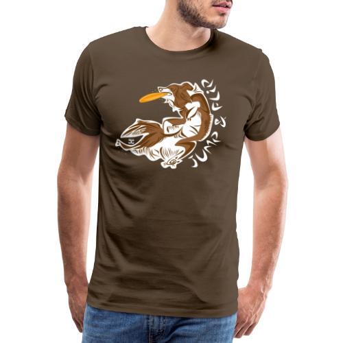 jump Flip - Choco - Men's Premium T-Shirt