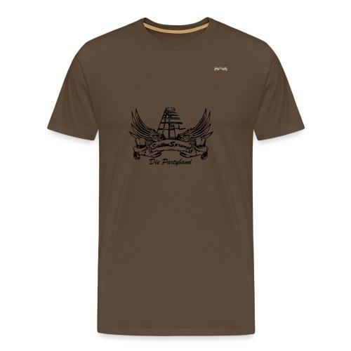 Logo Banner klein Vektor - Männer Premium T-Shirt
