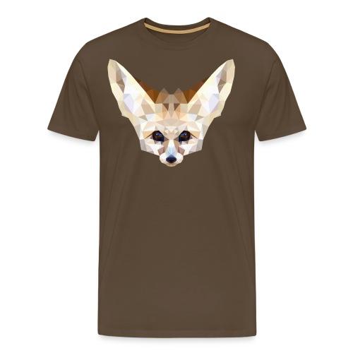 Fennec low poly - T-shirt Premium Homme