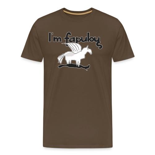 Im fapulous Pegasus - Männer Premium T-Shirt