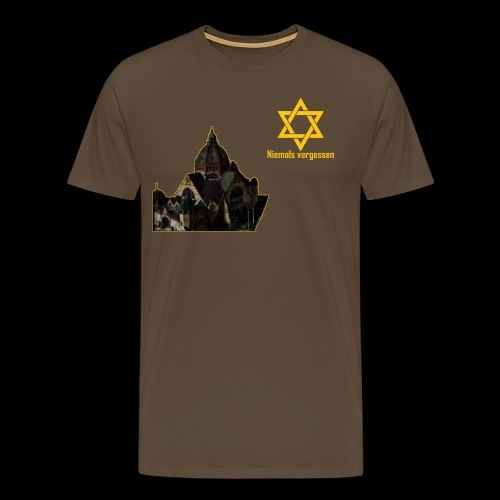 Synagoge - Männer Premium T-Shirt
