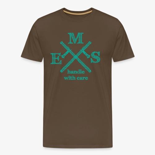 ems mint - Männer Premium T-Shirt