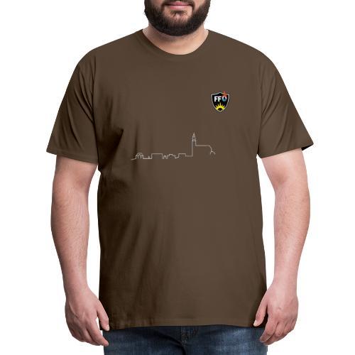 Skyline Ostermiething - Männer Premium T-Shirt