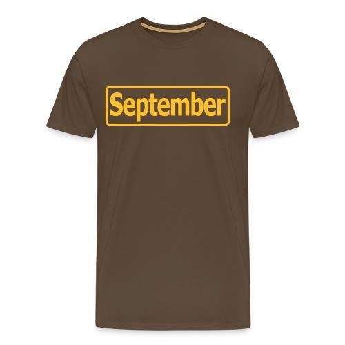 september2 - Männer Premium T-Shirt