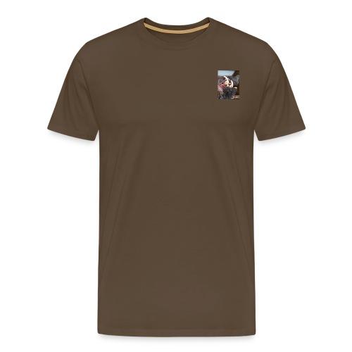 Keiler Kopf , Keiler Haupt, Gebräch, - Männer Premium T-Shirt