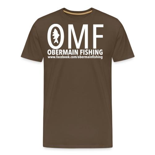 stempel-spread-weiss - Männer Premium T-Shirt