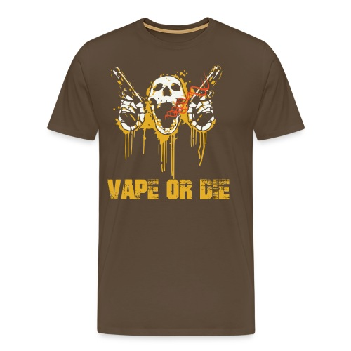 VAPE OR DIE - Männer Premium T-Shirt