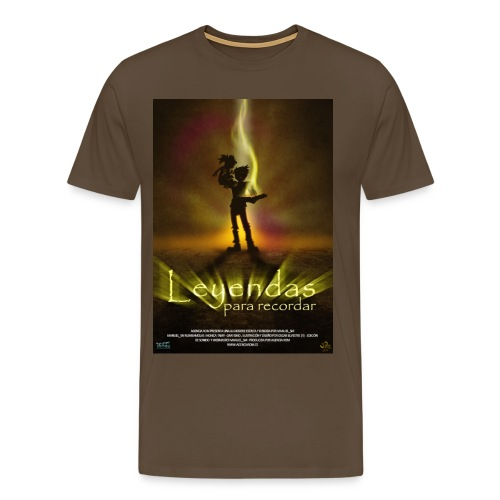 Leyendas Poster HD jpg - Camiseta premium hombre