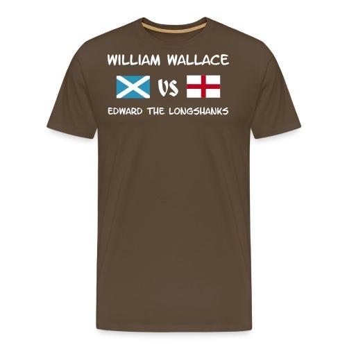 William vs Edward W - Männer Premium T-Shirt