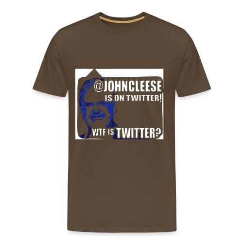 jc twit 2 - Men's Premium T-Shirt