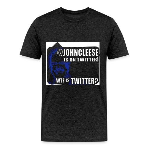 jc twit 2 - Men's Premium T-Shirt