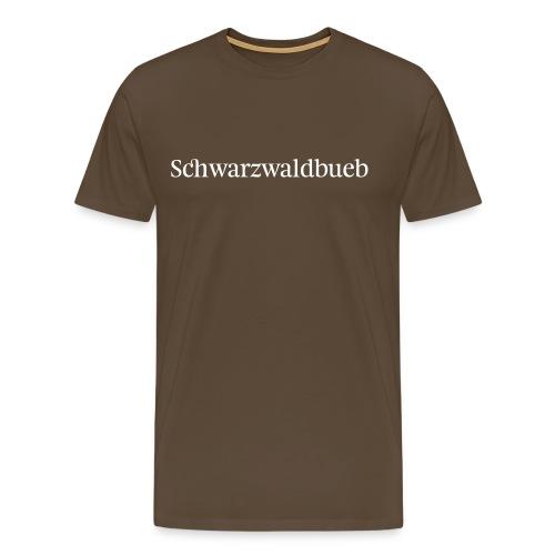 Schwarwaldbueb - T-Shirt - Männer Premium T-Shirt