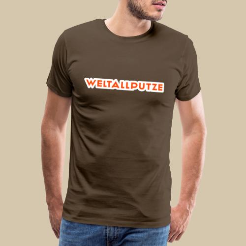 weltallputze tshirt 01 - Männer Premium T-Shirt