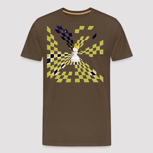 King Illusion png - T-shirt Premium Homme