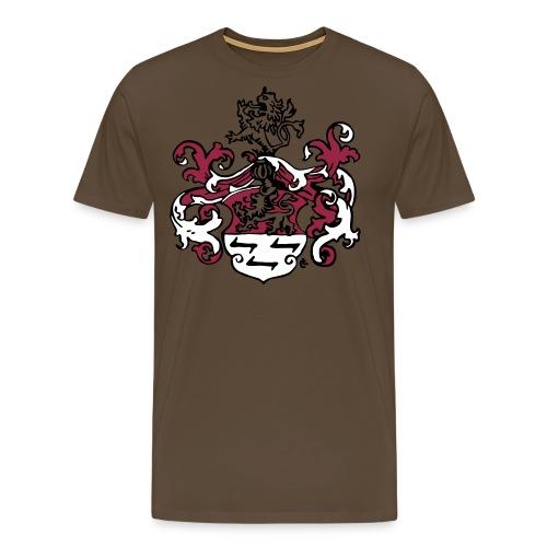 Wappen dreifarbig - Männer Premium T-Shirt