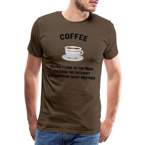 Coffee - Männer Premium T-Shirt