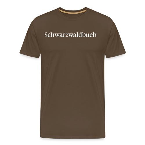 Schwarwaödbueb - T-Shirt - Männer Premium T-Shirt