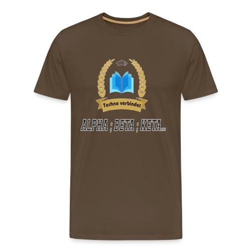 Techno verbindet - Männer Premium T-Shirt