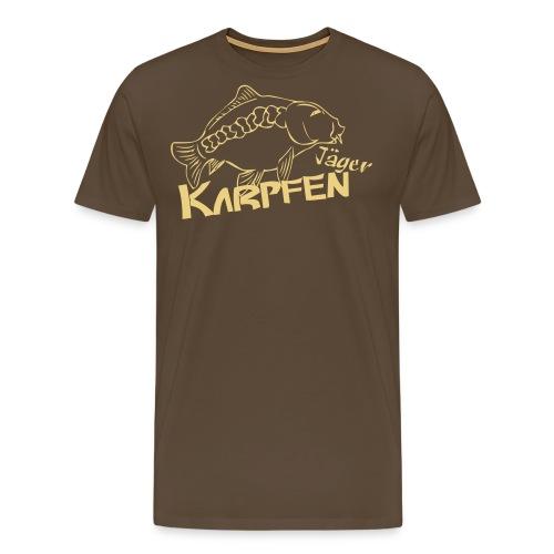 Karpfenjäger - Männer Premium T-Shirt