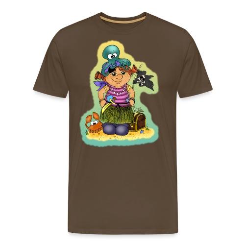 Ahoi nech, kloine Piroaaadin - Männer Premium T-Shirt